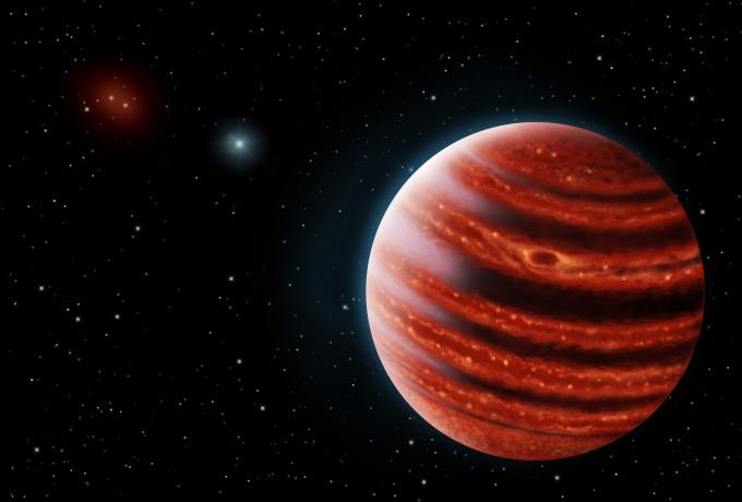 51 에리다리 b의 상상도 - SETI 연구소 제공